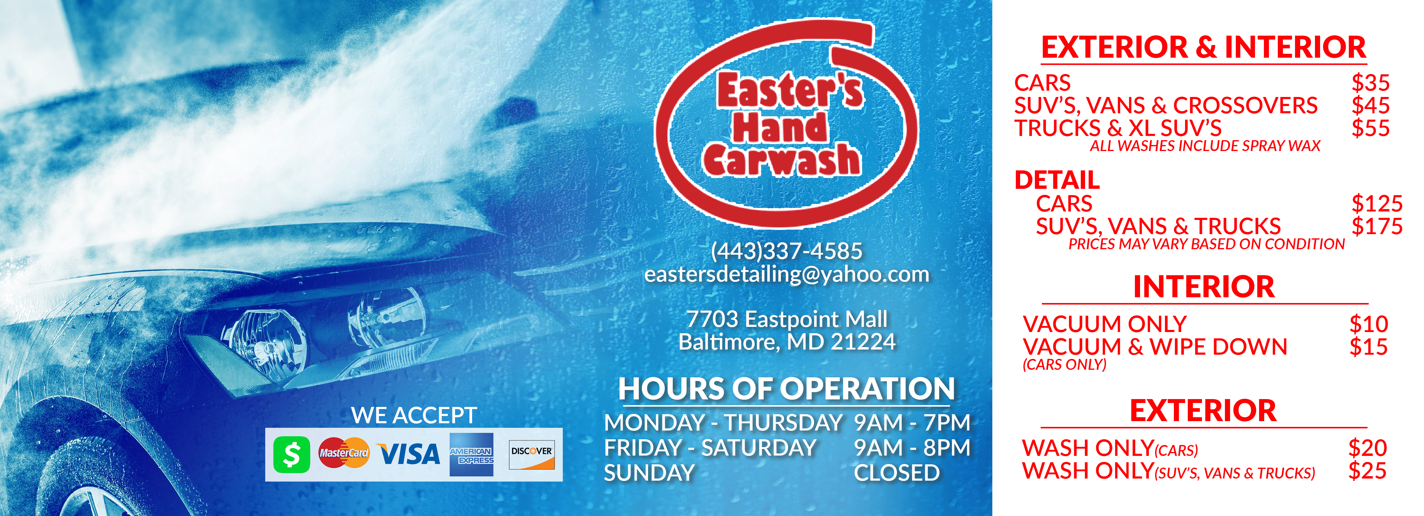 Easters Carwash